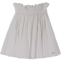 NO 21 Kids Skirts for Girls On Sale in Outlet, White, Cotton, 2021, 30 (6 Years) 36 (9 Years) 42 (12