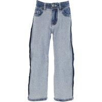 NO 21 Kids Jeans for Girls On Sale, Dark Blue Denim, Cotton, 2019, 10Y 12Y 6Y