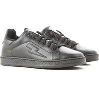 Neil Barrett Kids Shoes for Boys On Sale, Black, Leather, 2019, 34 35 36 37 38