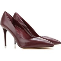 Nina Lilou Pumps & High Heels for Women On Sale in Outlet, Bordeaux, Leather, 2021, 6.5 7.5