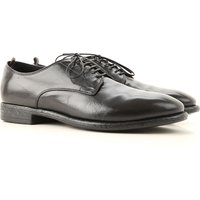 Officine Creative Lace Up Shoes for Men Oxfords, Derbies and Brogues On Sale, Black, Leather, 2019,