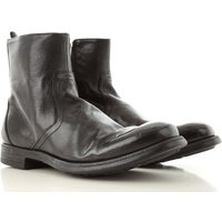 Officine Creative Boots for Men, Booties, Black, Leather, 2021, 7 9