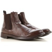Officine Creative Chelsea Boots for Men On Sale, Cigar, Leather, 2019, 6.5 7.5 9 9.5