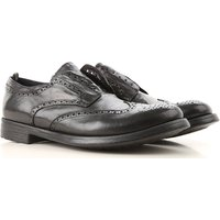 Officine Creative Slip on Sneakers for Men On Sale in Outlet, Black, Leather, 2019, 6.75 9.25