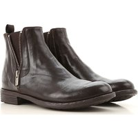 Officine Creative Chelsea Boots for Women On Sale, Cigar, Leather, 2019, 5.5 6.5