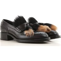 Prada Loafers for Women On Sale in Outlet, Black, Leather, 2019, 3.5 4 4.5 5 6 7.5