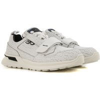 Prada Sneakers for Men On Sale in Outlet, White, Leather, 2021, 7 7.5 8.5