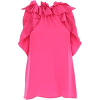 P.A.R.O.S.H. Top for Women On Sale, Fuchsia, polyester, 2019, 10 8