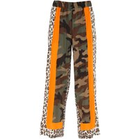 P.A.R.O.S.H. Pants for Women On Sale, Military Green, Silk, 2019, 10 8
