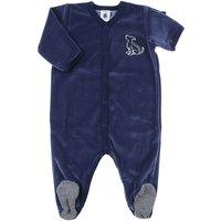 'Petit Bateau Baby Bodysuits & Onesies For Boys On Sale, Blue, Cotton, 2017, 6m 9m