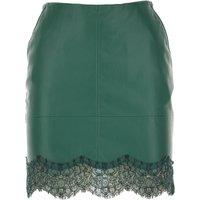 Patrizia Pepe Skirt for Women On Sale, Dark Green, polyurethane, 2019, 26 8