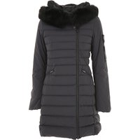 Peuterey Down Jacket for Women, Puffer Ski Jacket, Midnight, polyamide, 2021, 34 8