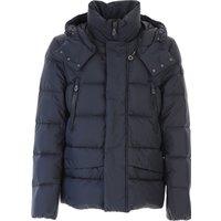 Peuterey Down Jacket for Men, Puffer Ski Jacket On Sale, Ink, polyamide, 2019, S XL