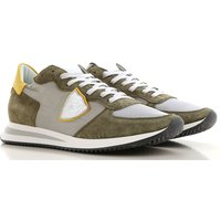 Philippe Model Sneakers for Men On Sale, Military Green, Nylon, 2019, 10.5 6.5 8 9 9.5