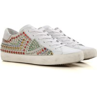 Philippe Model Sneakers for Women On Sale in Outlet, White, Leather, 2019, 3.5 7.5