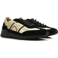 Philippe Model Sneakers for Women On Sale, Gold, Leather, 2019, 3.5 4.5 5.5 7.5 8.5