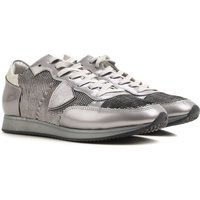 Philippe Model Sneakers for Women On Sale in Outlet, Silver, Patent Leather, 2019, 4.5 6.5