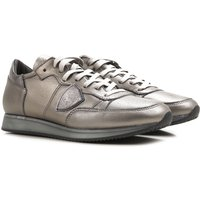 Philippe Model Sneakers for Women On Sale in Outlet, Silver, Leather, 2019, 3.5 4.5 5.5 7.5