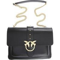 Pinko Shoulder Bag for Women, Black, Leather, 2019