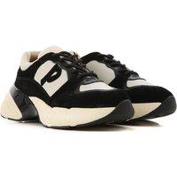 Pinko Sneakers for Women On Sale, Beige, Suede leather, 2019, 2.5 3.5 4.5 6.5 7.5