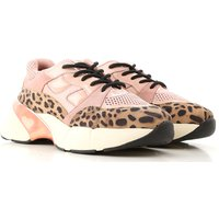 Pinko Sneakers for Women, Pink, Suede leather, 2019, 3.5 4.5 6.5 7.5