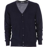 Paolo Pecora Sweater for Men Jumper On Sale, Blue Navy, Wool, 2019, L S