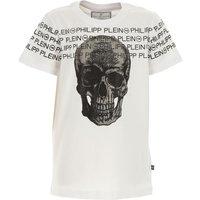Philipp Plein Kids T-Shirt for Boys On Sale, White, Cotton, 2019, 10Y 12Y 16Y 8Y