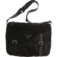 Prada Messenger Bag for Men, Black, Nylon, 2019