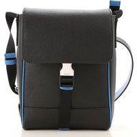 Prada Shoulder Bags, Black, Saffiano Leather, 2019