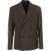 Prada Blazer for Men, Sport Coat On Sale in Outlet, Anthracite, Mohair, 2019, L XL XXL