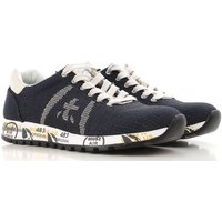 Premiata Sneakers for Women On Sale, Blue, Fabric, 2019, 3.5 4.5