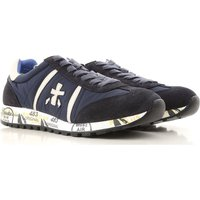 Premiata Sneakers for Men On Sale, navy, Suede leather, 2017, 7 9