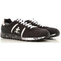 Premiata Sneakers for Men, Black, Suede leather, 2019, 10.5 6.5 7 8 9 9.5
