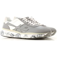 Premiata Sneakers for Men On Sale, Light Grey, Leather, 2019, 7 9.5