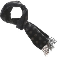 Paul Smith Scarf for Men, Black, Wool, 2019