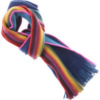 Paul Smith Scarf for Men, Rainbow, Wool, 2017