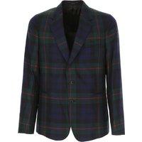 Paul Smith Blazer for Men, Sport Coat, Dark Green, Wool, 2019, L M XL