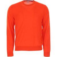 Paul Smith Sweater for Men Jumper, Orange, merino wool, 2017, L M