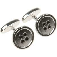 Paul Smith Cufflinks for Men On Sale, Silver, Stainless Steel, 2017