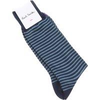 Paul Smith Socks Socks for Men, Blue, Cotton, 2019