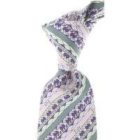 Emilio Pucci Ties On Sale, Lilac, Silk, 2019