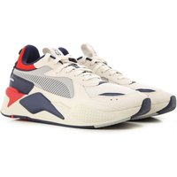 Puma Sneakers for Men, White, Textile, 2019, 7.5