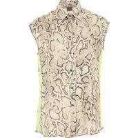 Pinko Top for Women On Sale, Natural, Viscose, 2019, 10 12 6 8
