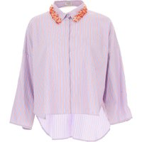 Pinko Shirt for Women, Sky, Cotton, 2021, 14 16