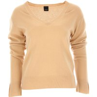Pinko Sweater for Women Jumper On Sale, Beige, Cashmere, 2019, 10 12 8