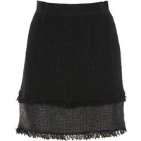 Pinko Skirt for Women On Sale in Outlet, Black, Cotton, 2019, 26 28