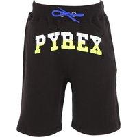 Pyrex Pantalones Cortos para Niño Baratos en Rebajas, Negro, Algodon, 2019, L M S XL XS XXL (16 Y)