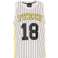 Pyrex Camiseta de Hombre, Blanco, Poliester, 2019, S XS