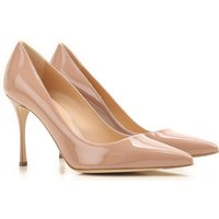 Sergio Rossi Pumps & High Heels for Women On Sale, Nude, Patent Leather, 2019, 4 6.5
