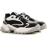 Sergio Rossi Sneakers for Women On Sale in Outlet, Black, Patent Leather, 2019, 2.5 3.5 4.5 5.5 6.5